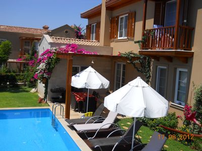 Photo for Villa Lagun with sea view and private pool, three en-suit bedrooms,6 Sleeps
