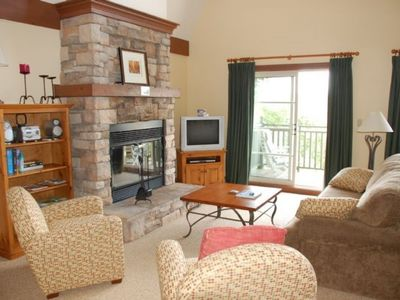 Photo for Luxurious 2 Bdr Condo - Mountain Side, Pool, 10min Walk to Village, Free Shuttle