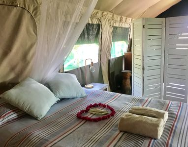 Eden Bay Eco Lodge (luxury under canvas accommodation)