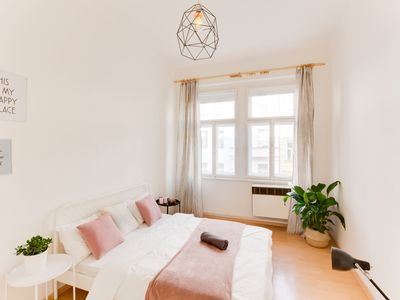 Photo for Luxury and warm flat 2 bedrooms  in Letna by the center