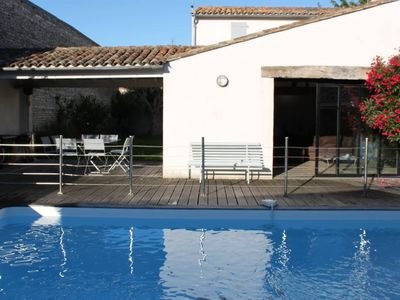 Photo for CHARMING HOUSE IN THE HEART OF THE VILLAGE WITH POOL AND GARDEN