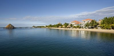 Photo for The Placencia Hotel 3 Bedroom/3 Bath Ocean Front Condo
