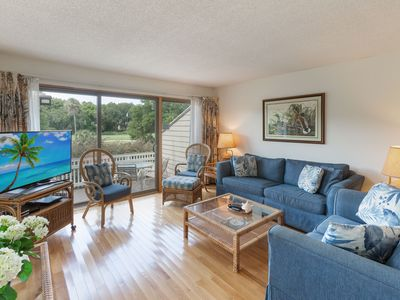 Photo for 44 Fairway Dunes - Nice condo close to the beach with pool and tennis access