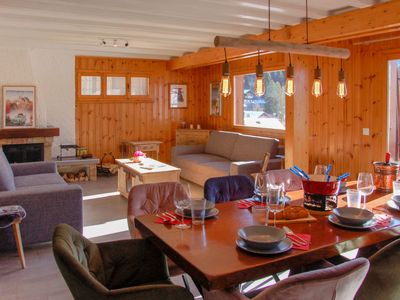 Photo for Apartment Chalet Chardonneret in Villars - 6 persons, 3 bedrooms