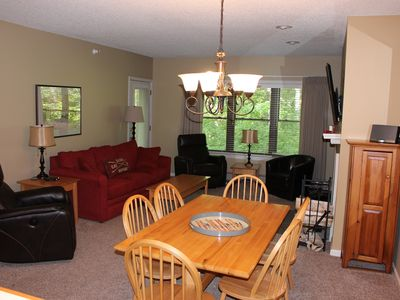 Photo for End of season special! Slopeside @ Okemo 3Br/2Ba- Winterplace L104