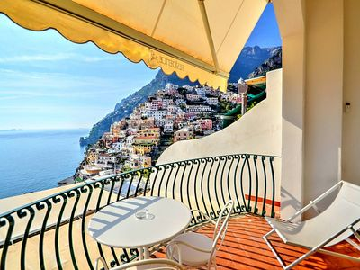 Photo for Villa Faustina A: A bright and elegant studio apartment located in the center of Positano, with Free WI-FI.