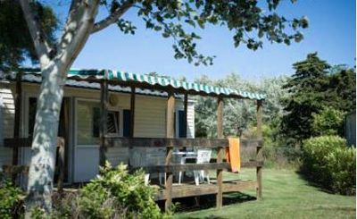 Photo for Camping L'Oasis *** - Mobile Home 3 Rooms 4/6 People