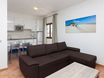 Photo for TAO MAZO 1 - 1 bedroom apartment with pool and views of the volcanoes