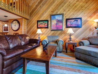 Photo for Updated 3BR Park City Condo with Mountain-View Hot Tub