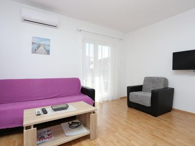 Photo for Three bedroom apartment with balcony Split (A-11518-d)