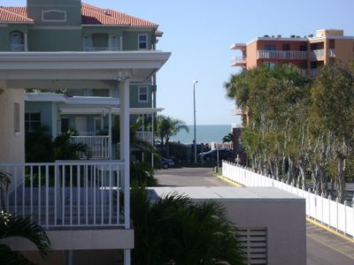 View of Gulf from front door