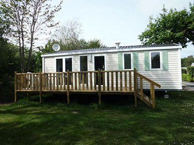 Photo for Camping Lanven *** - Mobile home Riviera 4 rooms 6 people