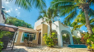 Photo for Private Home, just 20 steps from the pristine beaches of Playacar Phase 1
