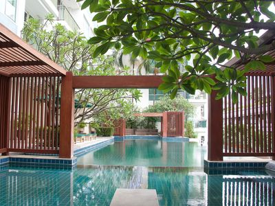 Photo for 1BR Condo Vacation Rental in Khwaeng Khlong Toei Nuea, Krung Thep Maha Nakhon