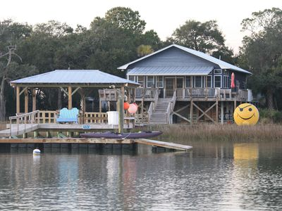 Photo for By Boat Only... The Smiley Face House