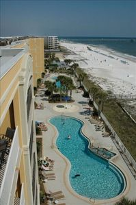 Photo for Azure- Beautiful 3 BR, ground floor-Easy Pool/Beach access-free beach service!