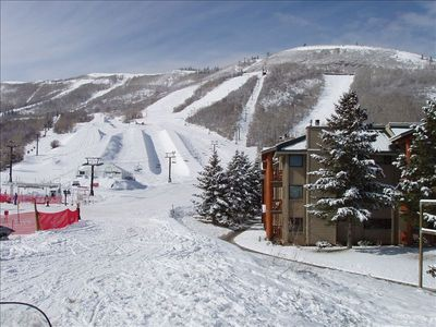 Photo for Snowflower #57 Park City 2 BR/2 BA Ski-in and Ski-Out Condo