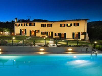 Photo for Villa in Montecatini Terme with 11 bedrooms sleeps 24