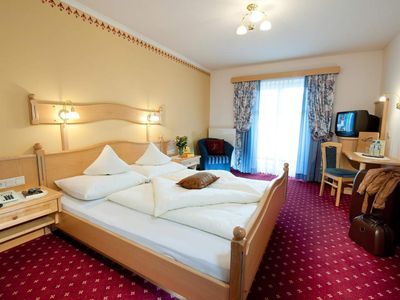 Photo for Comfort Double Room | Balcony 20-25m² - Angerwirt, Vital- und Familienhotel