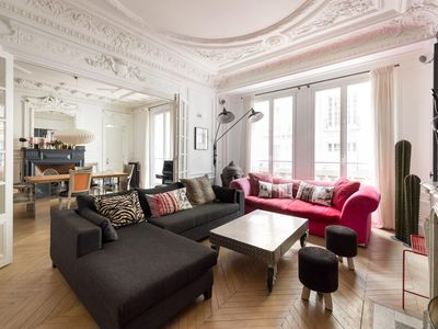 Photo for Rue de Rochechouart III - luxury 3 bedrooms serviced apartment - Travel Keys