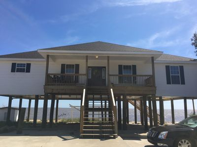 Photo for Beautiful New Beach Front Home just minutes from Biloxi casinos!