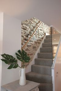 Exposed Original Stonework to Stairs leading to 1st Floor