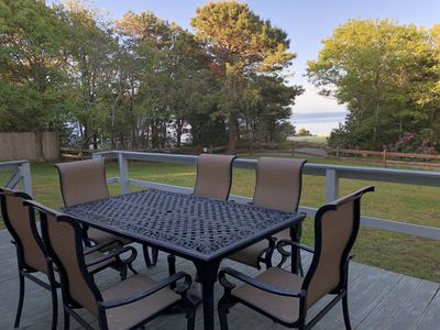 Photo for Beautiful Oceanview  - Spacious home on Private Scraggy Neck Island