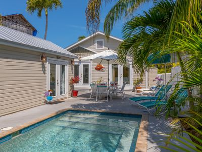 LADY ADMIRAL ~ Sweet cottage & guest house with private pool off Duval