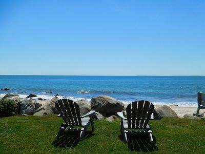 Photo for Ocean front home, newly renovated with private beach at your doorstep!
