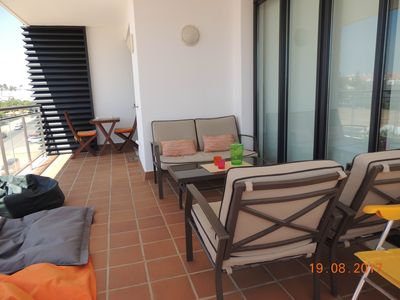Photo for Apartment with Big Balcony in Tavira for 3 persons