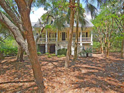 Photo for Gorgeous Seabrook Home on Captain Sam's Creek