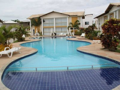 Photo for Apt on the beach taperapuan in closed cond a 3 minutes walk from the beach, furnished.
