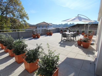Photo for OPO-APT 112-R Terrace apartment in city center. Soberb view on a huge terrace.