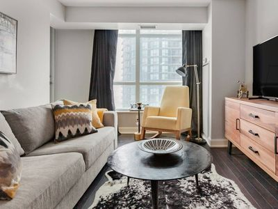 Photo for 1809-A · Swanky Designer Condo in Downtown Toronto