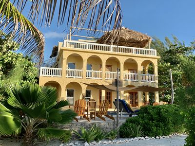Photo for Luxury beachfront home w/ pool, private dock, concierge, many recent upgrades!