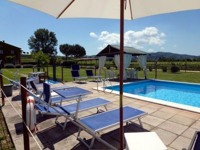 Photo for Holiday apartment Torgiano for 1 - 6 persons with 3 bedrooms - Farmhouse