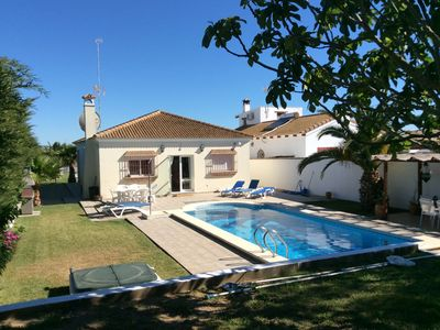 Photo for Villa Gabriella 4 bed Villa opposite Golf Course, Ideal for 2 families.