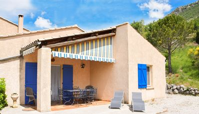 Photo for At the heart of the Provencal Drome, in a remarkable location, rental with pool