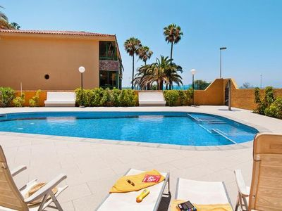 Photo for Apartment Beach Front, San Agustín  in Gran Canaria - 4 persons, 2 bedrooms