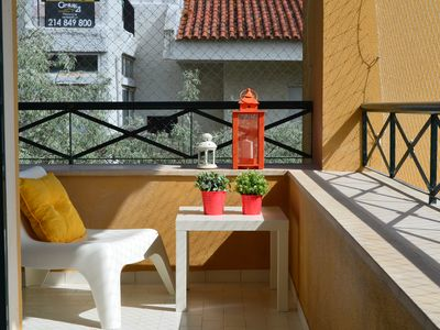 Photo for New, full of light, centre of Cascais, 3 bedrooms, 3 toilets, A/C, up to 8 guests