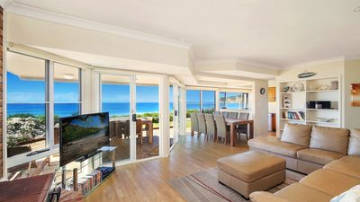 Photo for THE BREAKERS, NORTH AVOCA - BEACHFRONT WITH AMAZING OCEAN VIEWS, PET FRIENDLY