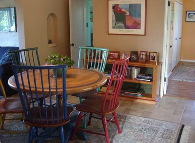 Dining area; next to den.