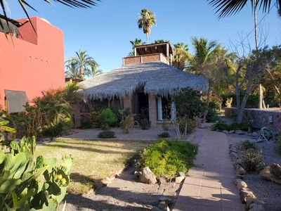 Photo for Charming Palapa House with Casita