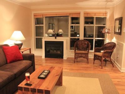 Photo for Charming Glacier Lodge 2 bedrooms - Holiday Whistler