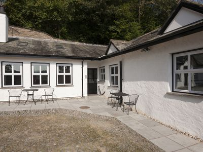 Photo for Fellside Luxury Cottage with parking. Lake views River Garden and court yard.