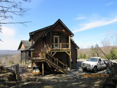 Photo for Magnificent  parcel has scenic mountain  views located on Lenox Mountain.