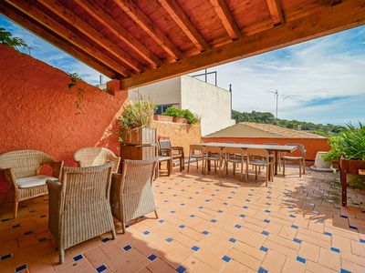 Photo for Rustic house in Baix Camp.  Views of the Costa Dorada