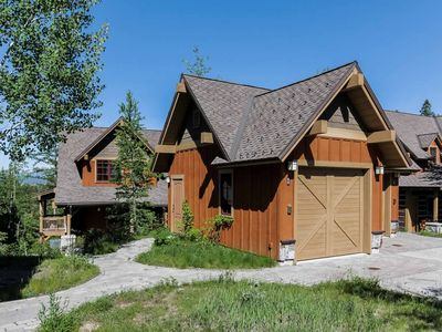 Photo for Lake view luxury resort townhome with private hot tub, ski in & out, air conditioning