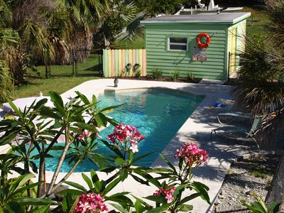 Photo for Cottage with Pool, Kayaks, and Boat Dockage just minutes to Key West!