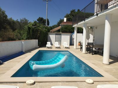 Photo for Modern holiday home with private pool for 6-8 persons